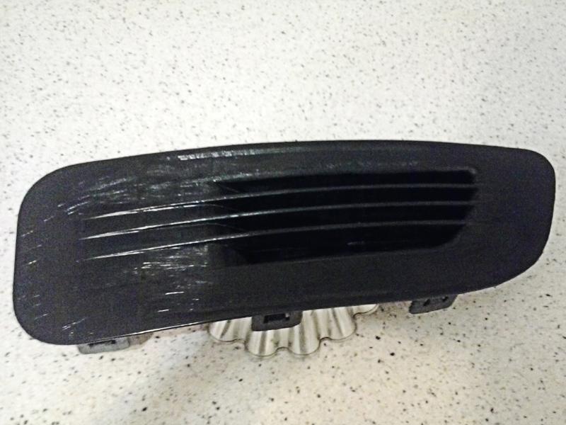 Заглушка бампера Citroen C4