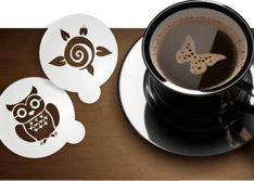 Изготовление трафаретов для кофе