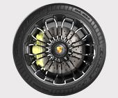 Колесо Porsche 918 Spyder